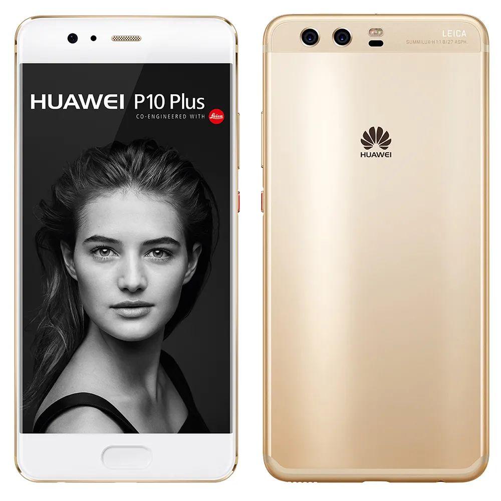 Elektra: Huawei p10 plus color dorado