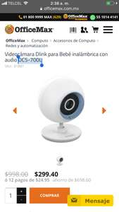 OFFICE MAX ONLINE CAMARA WIFI DLINK
