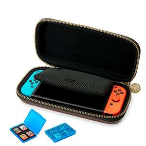 Amazon: Estuche para Nintendo Switch con relieve Zelda Breath Of The Wild