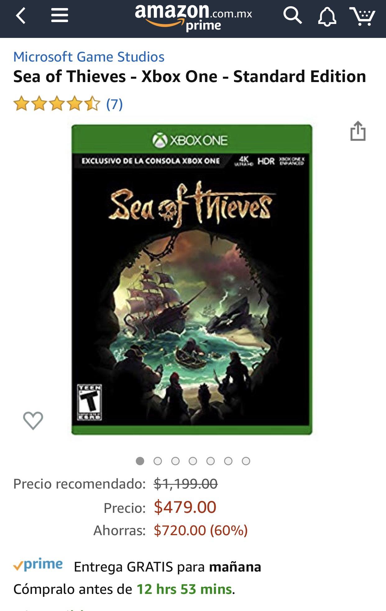Amazon Sea of Thieves Xbox One