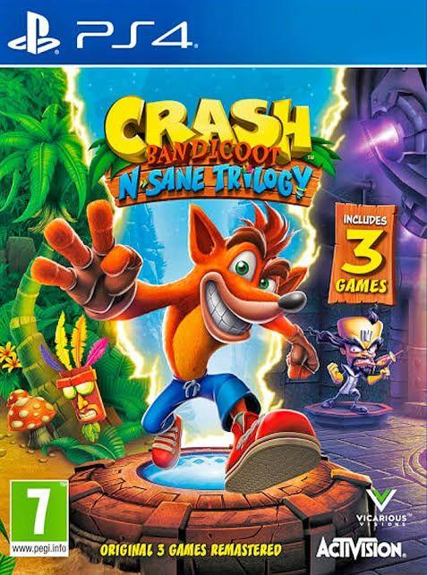 PlayStation Store: Crash Bandicoot: La Trilogía
