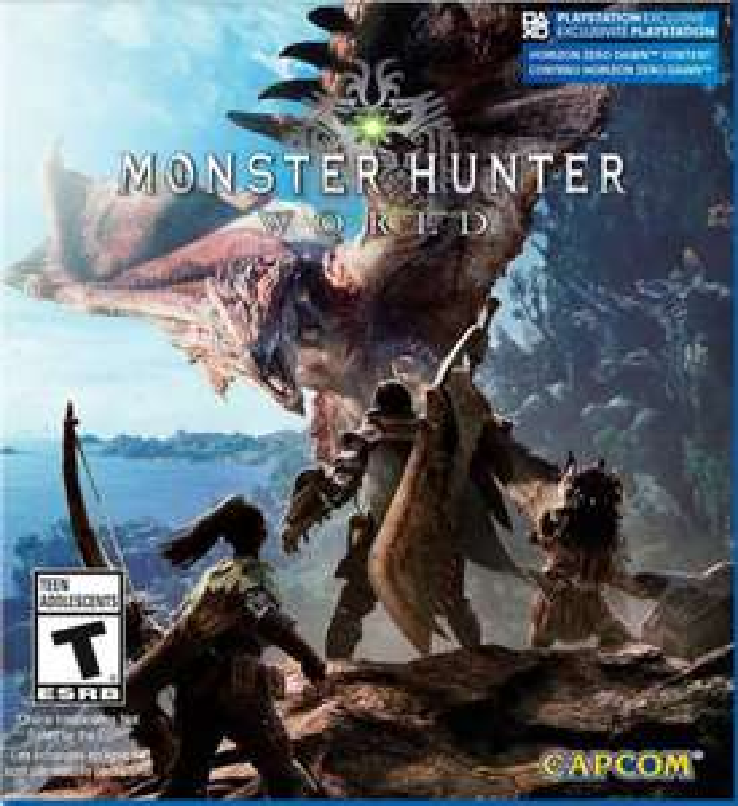 PlayStation Store: Monster Hunter World