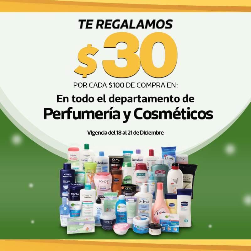 La Comer: $30 de descuento por cada $100 en perfumería, cosméticos, electrodomésticos de cocina y más