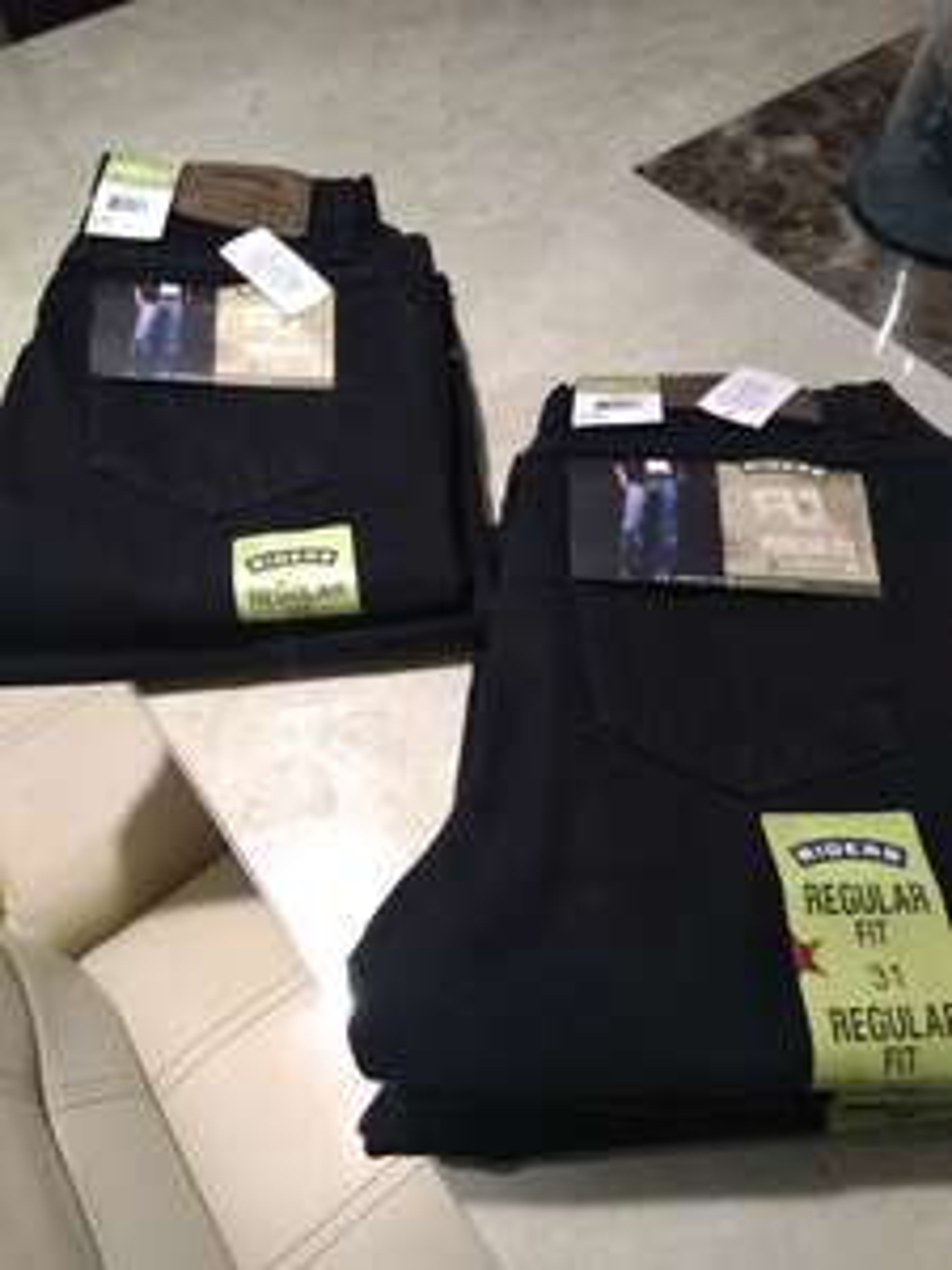 Walmart: Pantalón Riders negro talla 30 y 31