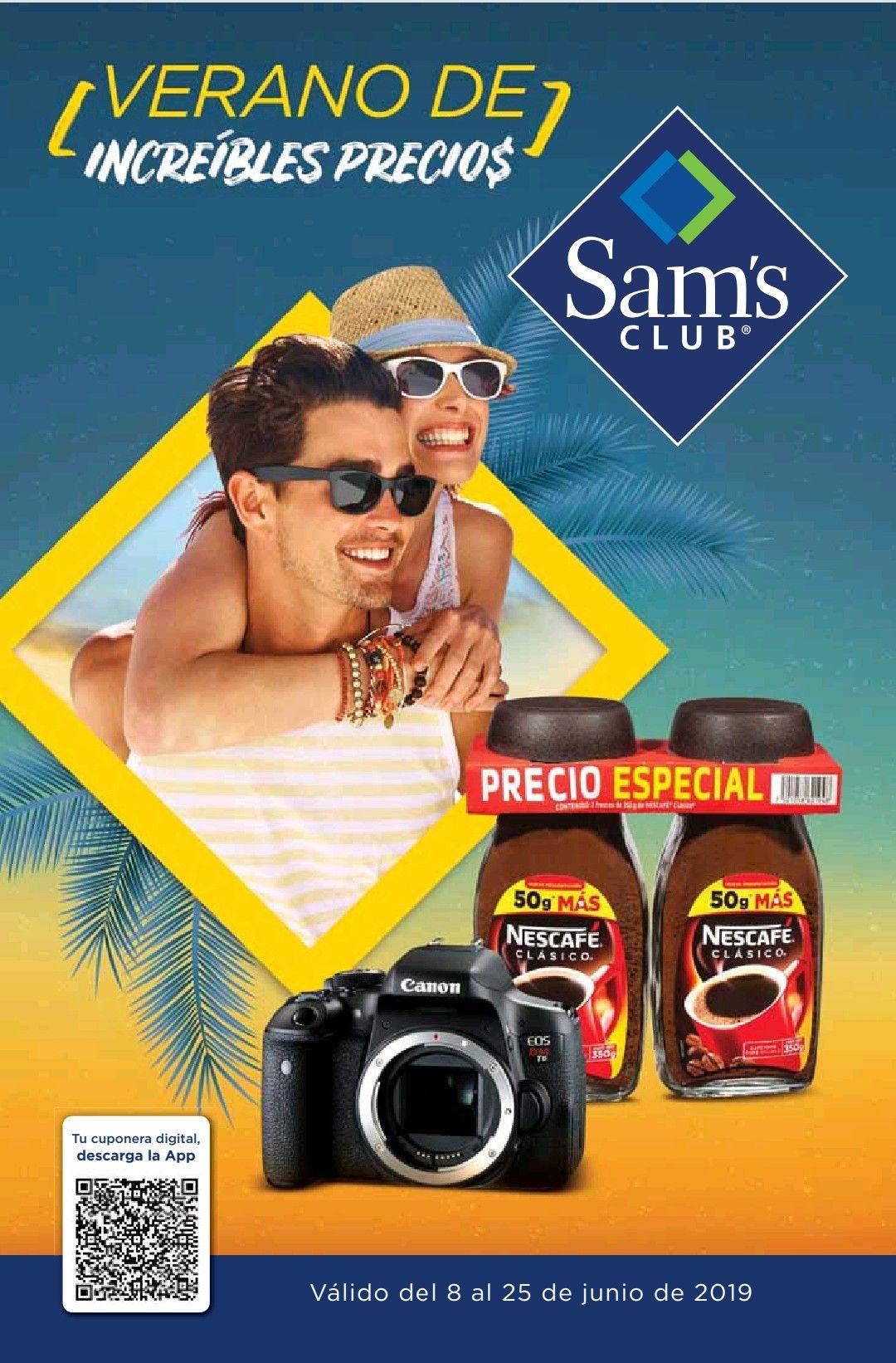 Sam's Club: Cuponera de Ofertas del 8 al 25 de Junio