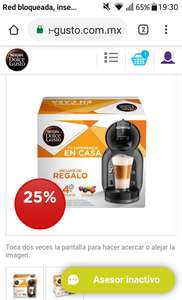 Dolce Gusto: Mini Me Negra Shop Pack