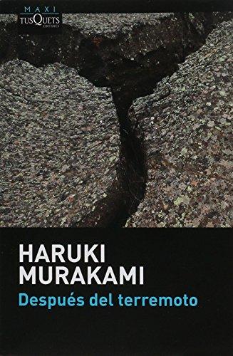 """Amazon MX: Libro físico """"Después del Terremoto"""" de Haruki Murakami"""