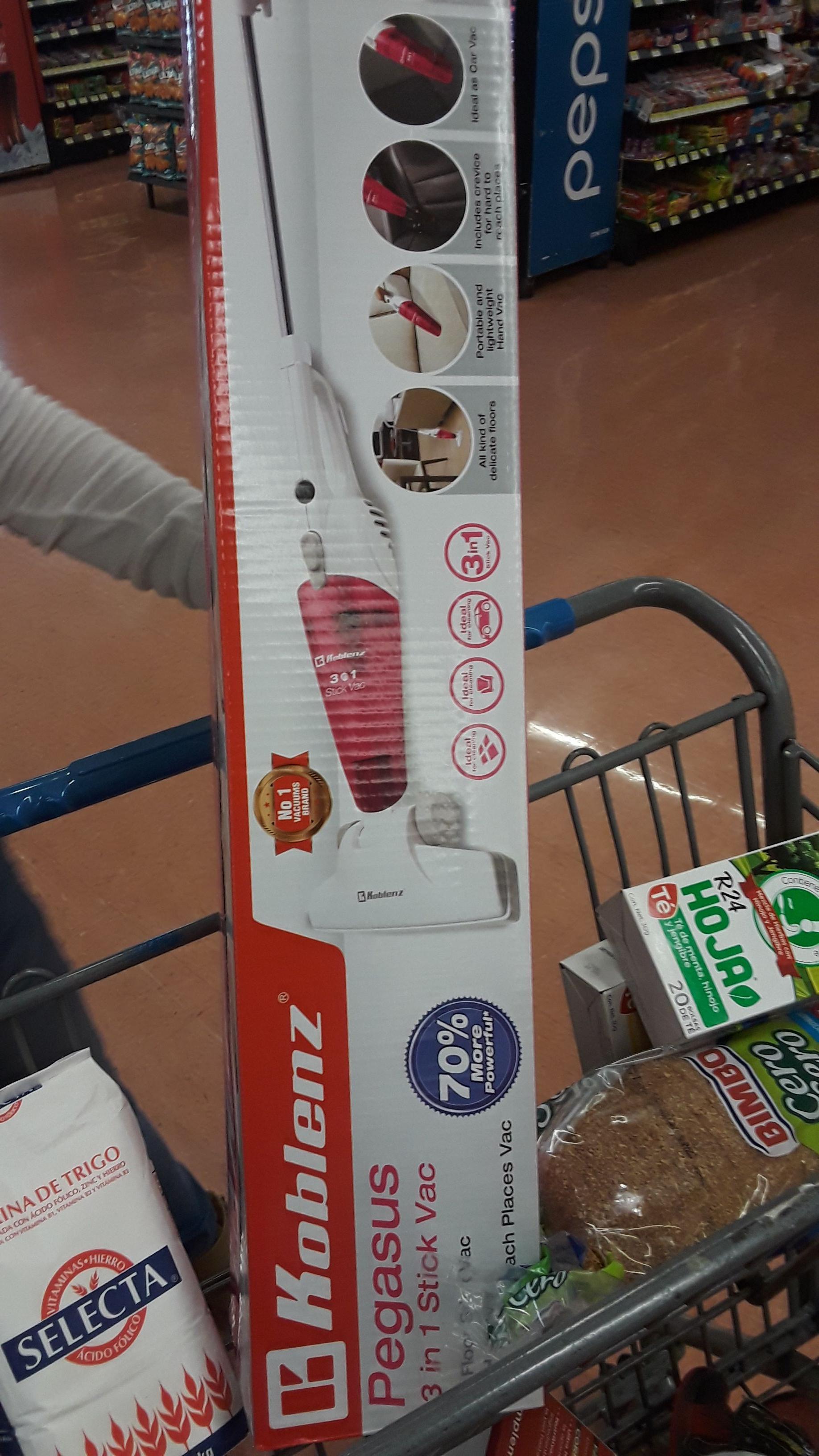 Walmart: Aspiradora Koblenz Pegasus 3 en 1