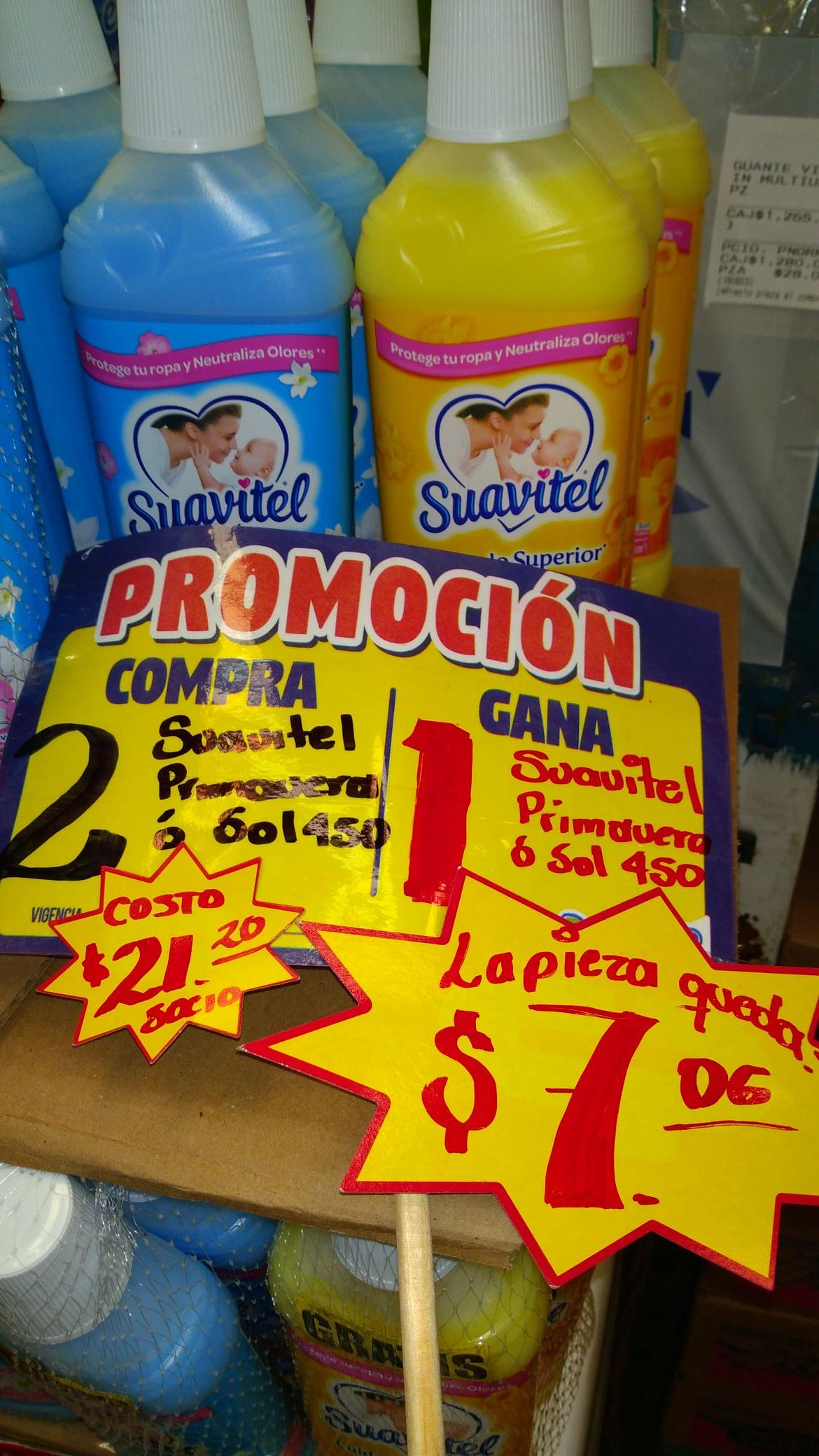 DZ Supermercado; suavitel 3 x 2