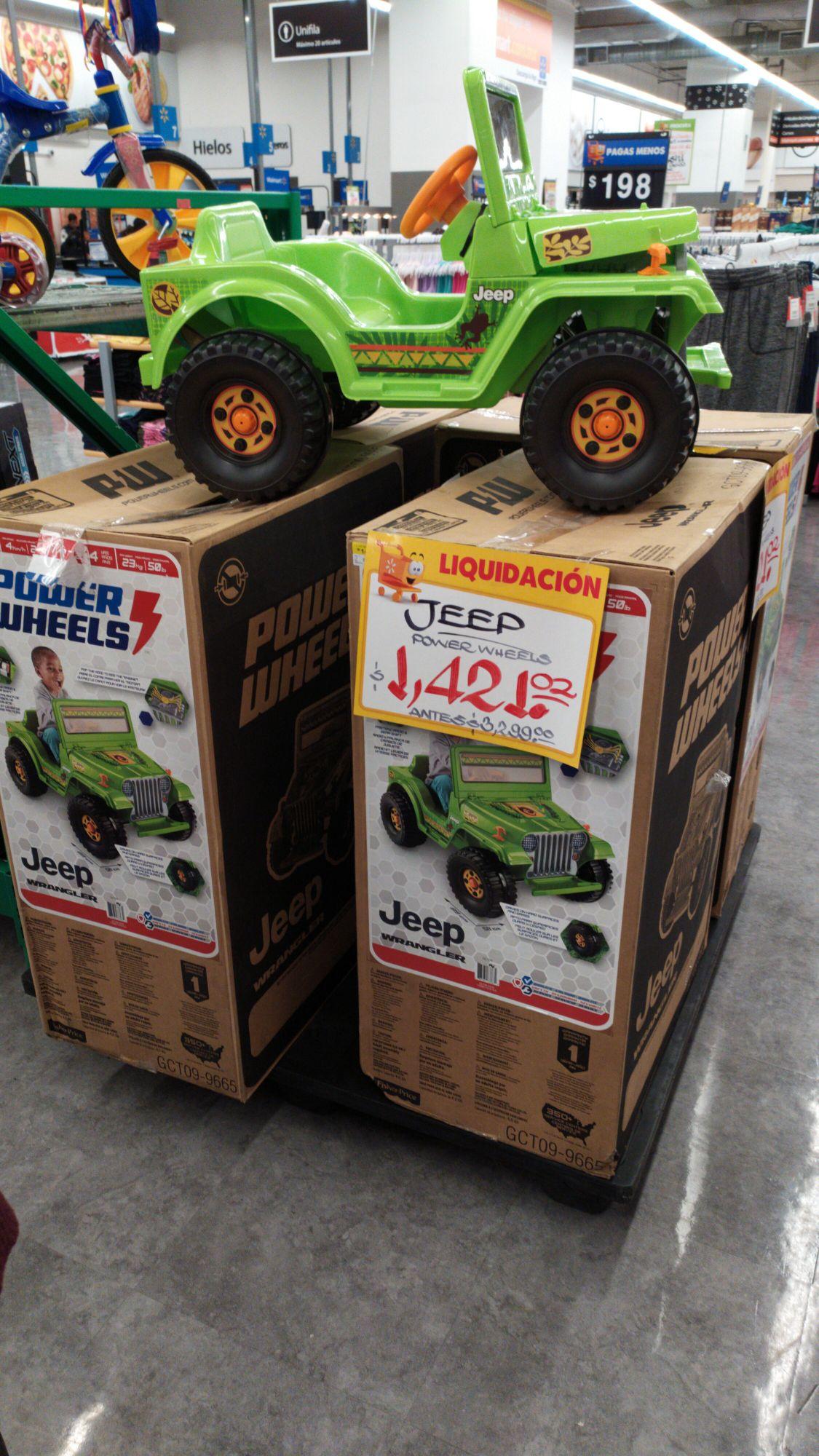 Walmart: Jeep power wheels