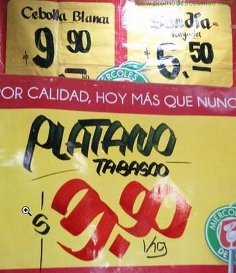 Miércoles de Plaza en La Comer julio 24: plátano $3.90, limón $1.90 y más