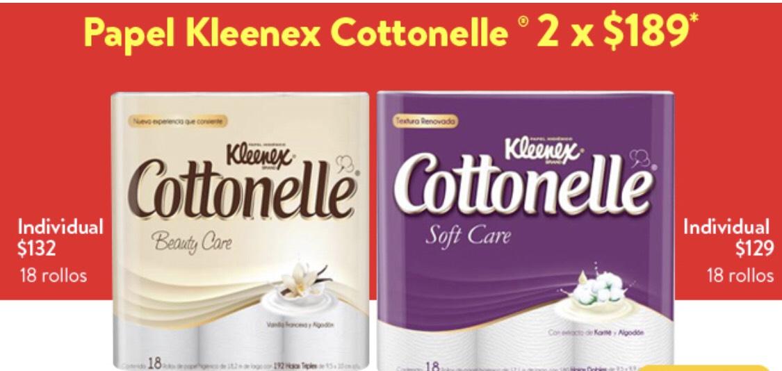 Walmart Súper: Cottonelle, Regio y Elite 2x$189