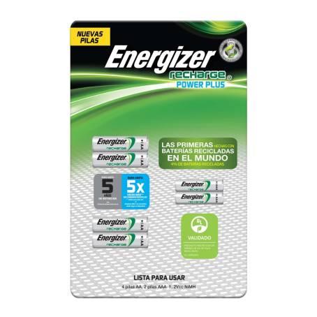 Sam's Club : Baterias recargables Energizer pack de 6 con 60% de descuento