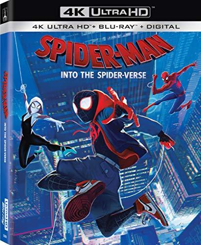 Amazon USA: Spider Man Into the Spider-Verse (BD/4K UHD)