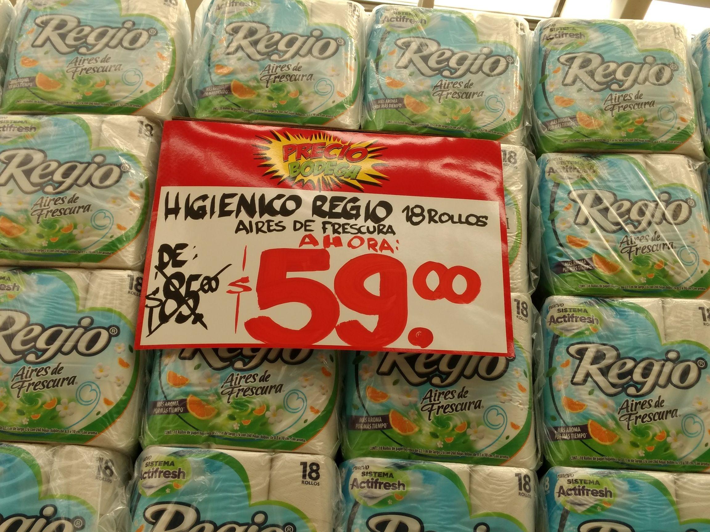 Bodega Aurrera: Papel higiénico aires de frescura