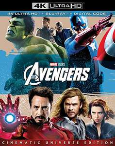 Amazon USA: Avengers 1 4K Blu-Ray $15 USD