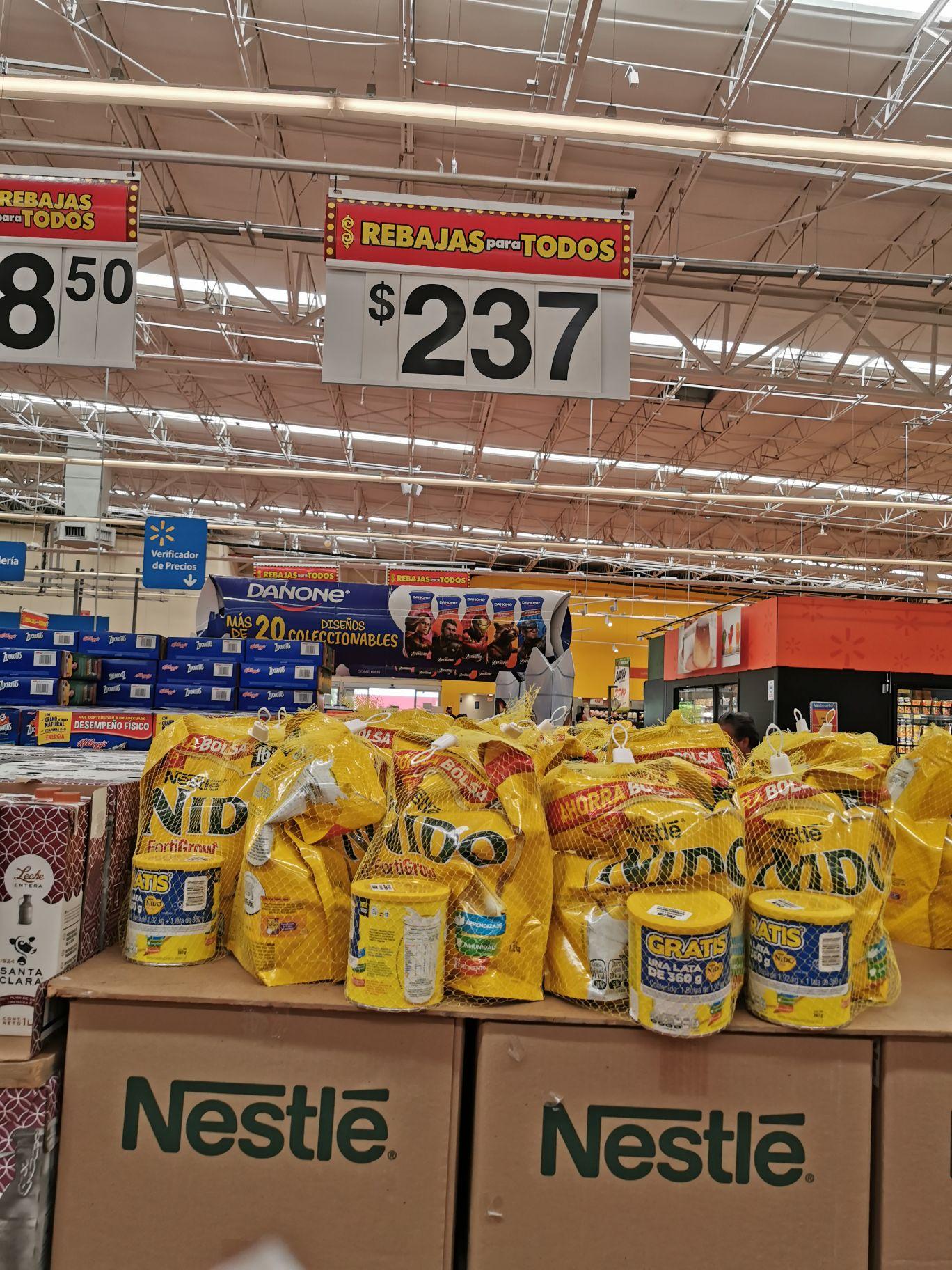 Walmart: Leche nido promoción