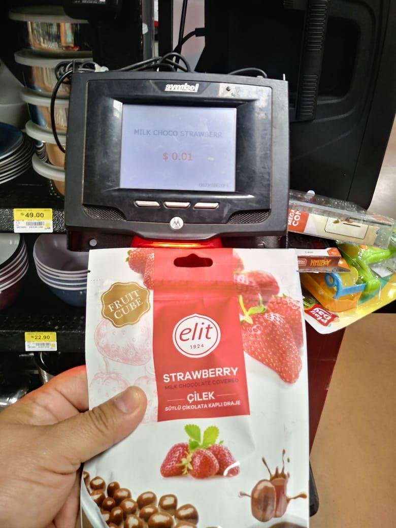 Wal-Mart Veracruz: Chocolate Elit