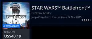 PSN-Central de Vacaciones Semana 2: Star Wars Battlefront Digital