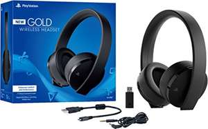 Amazon: Wireless Stereo Headset for PlayStation 4, Gold - Classics Edition