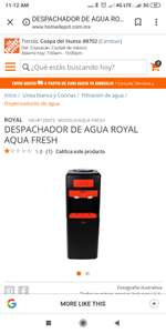 The Home Depot: Dispensador de agua royal