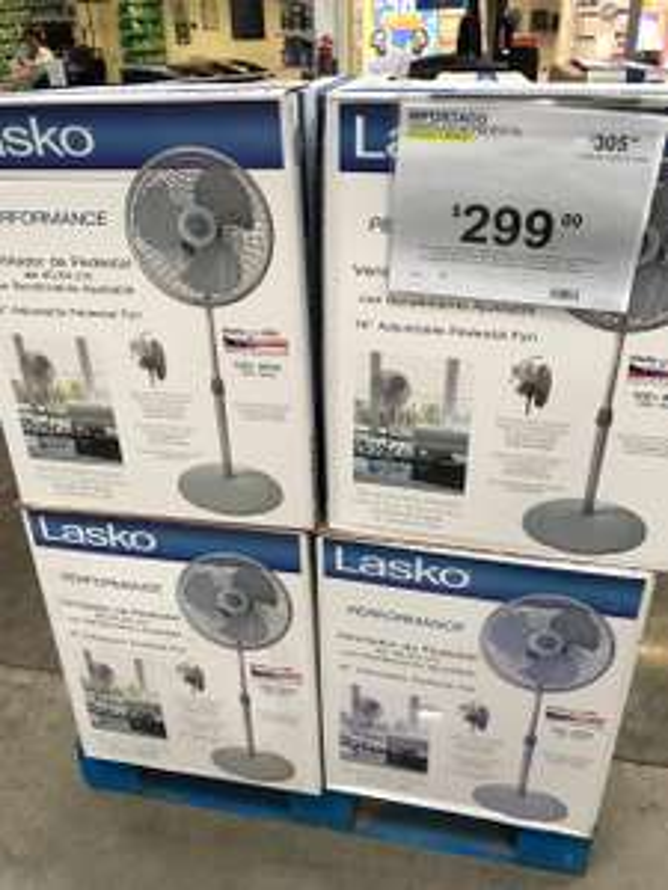 "Sam's Club: Ventilador de pedestal Lasko 16"""