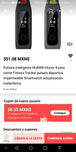 Aliexpress: Honor Band 4 Sport