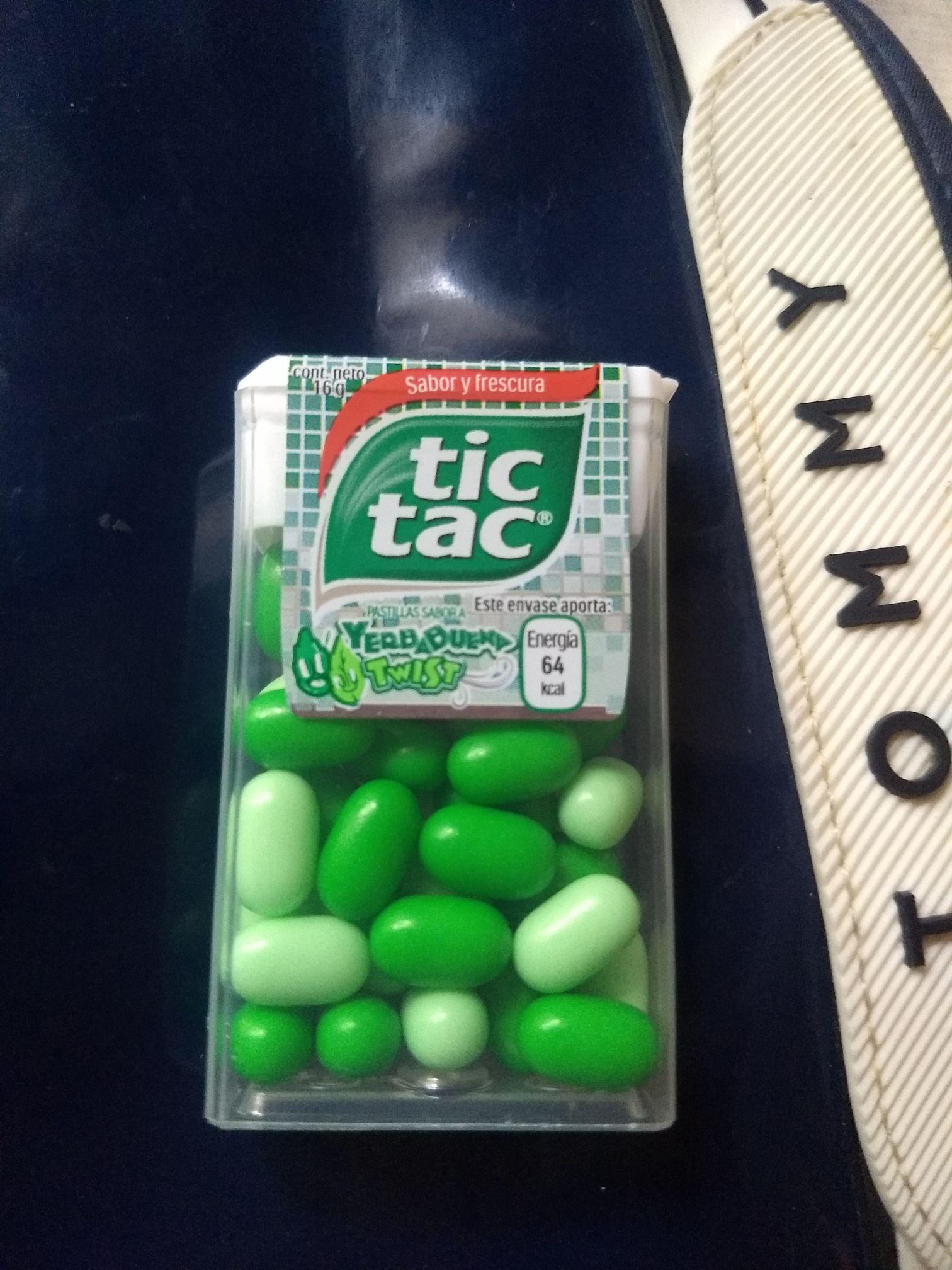 Walmart: Pastillas Tic Tac yerbabuena twist