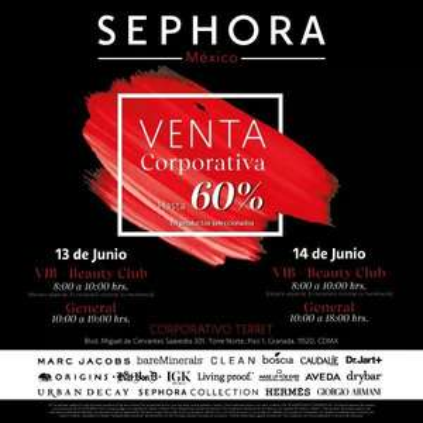 Sephora: Venta corporativa 2019