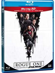 Sears: Rogue One una Historia de Star Wars Blu Ray 3D + Blu Ray + Bonus