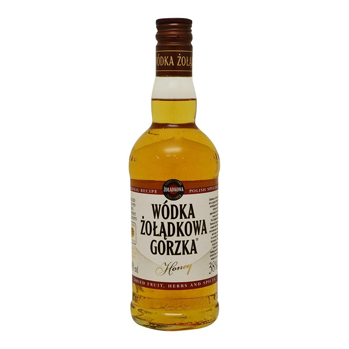 Chedraui: Vodka Zoladkowa Gorzka