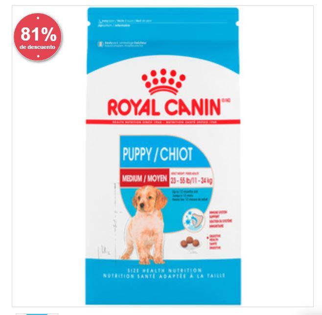 Petco: Royal Canin Medium 13.6Kg Para Cachorro