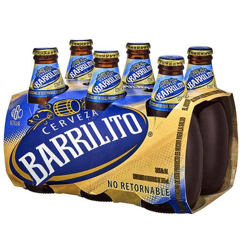 CHEDRAUI. Six de cerveza Barrilito, 325 ml.