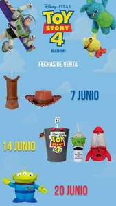 Cinemex: Coleccionables Toy Story 4