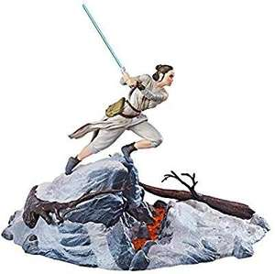 Amazon: STAR WARS Figura Centerpiece Rey The Black series