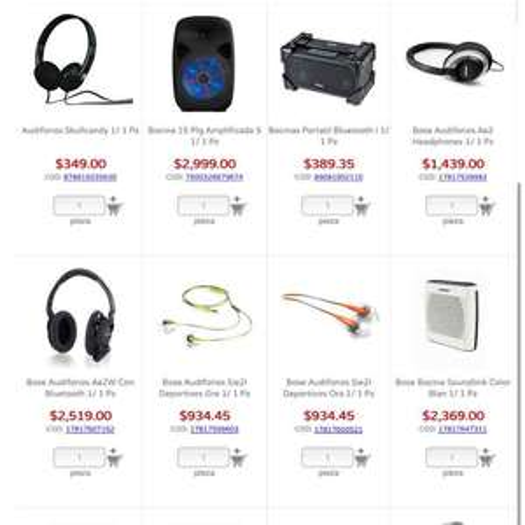 City Club: varios audífonos BOSE en oferta