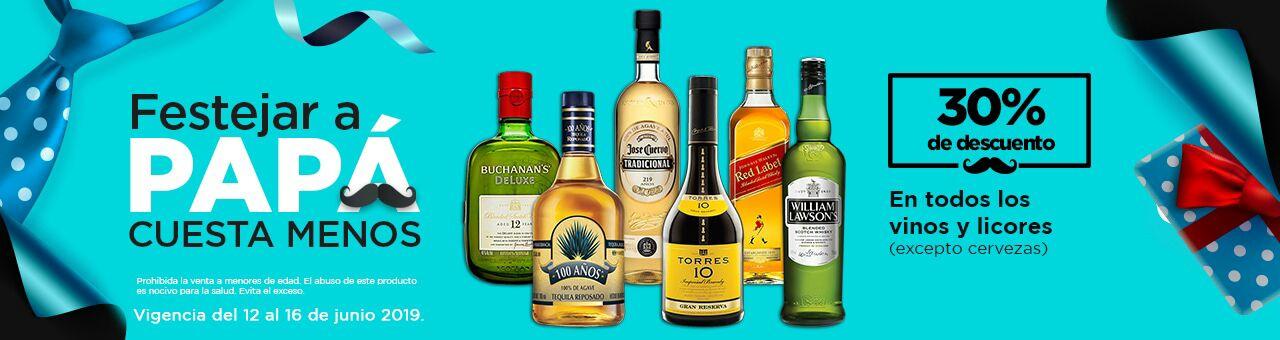 Chedraui: 30% de descuento en todos los vinos y licores (tienda física y en Línea)
