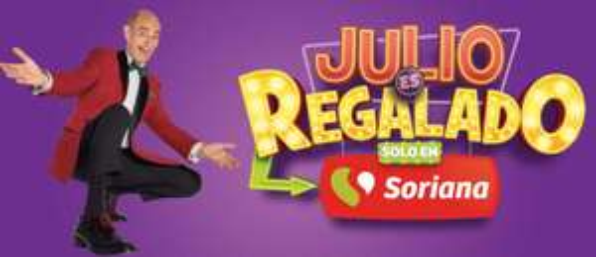Julio Regalado 2019: Segundo Folleto de Ofertas Julio Regalado en Soriana Hiper y Mega del 14 al 20 de Junio