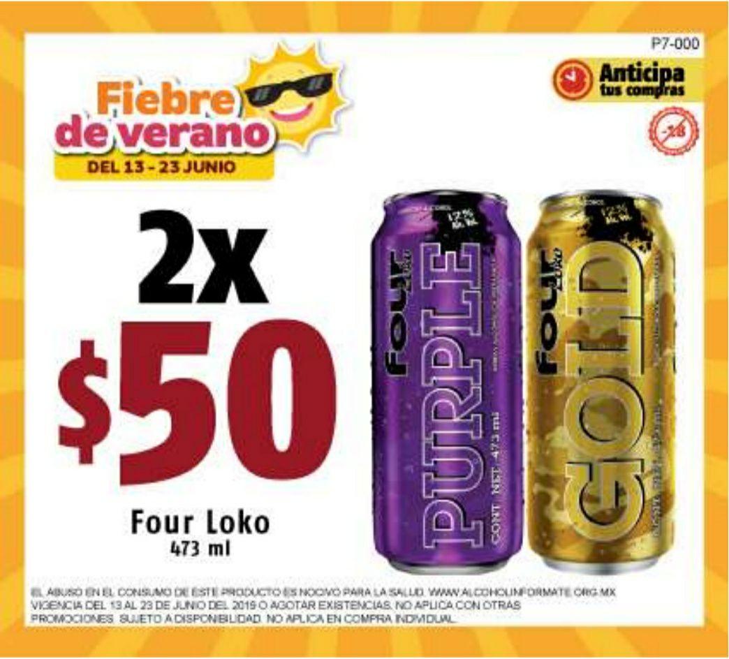 OXXO: 2 Four Loko x $50