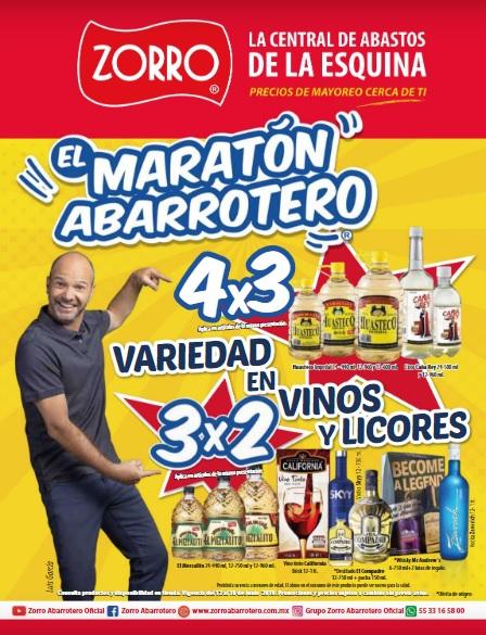 Zorro: 2° Folleto Maratón Abarrotero del Miércoles 12 al Martes 18 de Junio