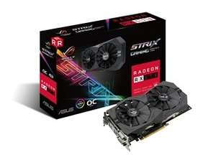 cyberpuerta (precio más envío) Tarjeta de Video ASUS AMD Radeon RX 570, 4GB 256-bit GDDR5, PCI Express 3.0