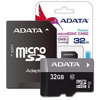 Linio: Memoria Micro SD Adata 32GB con adaptador más envío