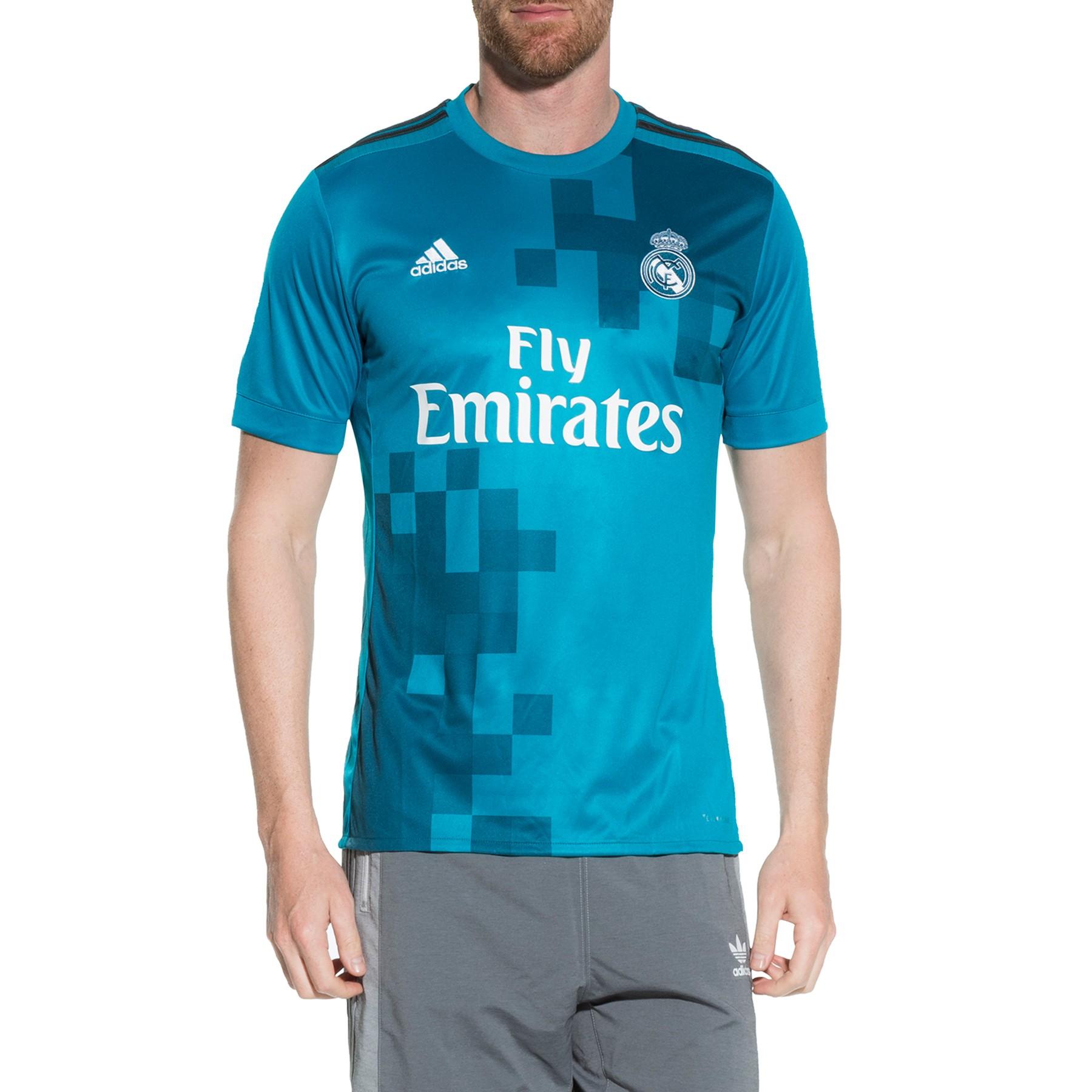 Palacio de Hierro: Jersey Club Real Madrid Tercero 17/18