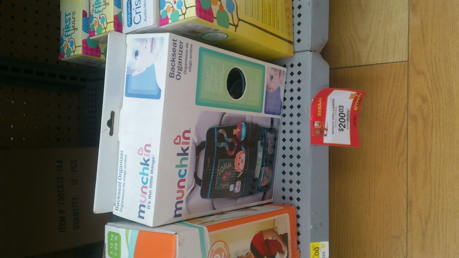 Walmart Alijadores Tampico: Organizador para coche a $90