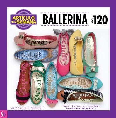 Artículo de la semana Suburbia: ballerina $120