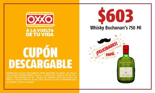OXXO: Whisky Bucanan´s de Luxe 12