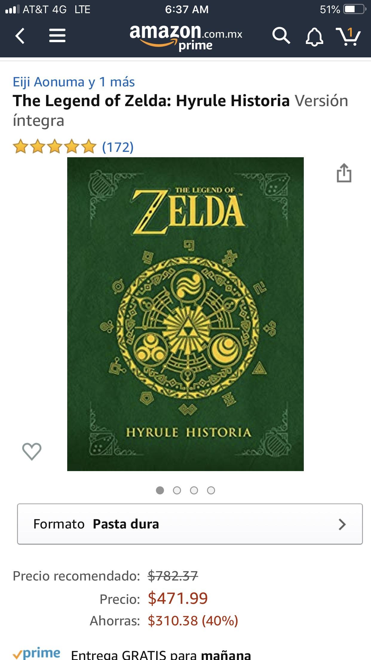 Amazon: Libros La leyenda de Zelda