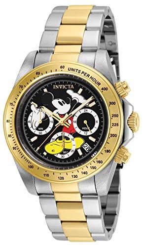 Amazon: Invicta 25194 Reloj Analógico con Movimiento de Cuarzo para Hombre Mickey Mouse