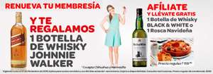 City Club: 1 botella de Whisky al renovar membresía