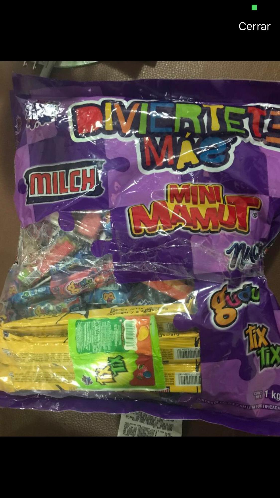 Paquete de Dulces 1 kg Diviértete más Walmart Tecnológico Colima